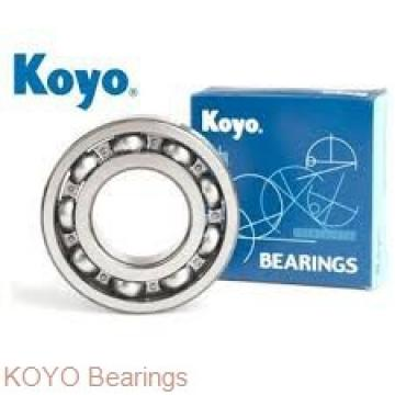 KOYO KBX050 angular contact ball bearings