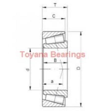 Toyana 71805 CTBP4 angular contact ball bearings