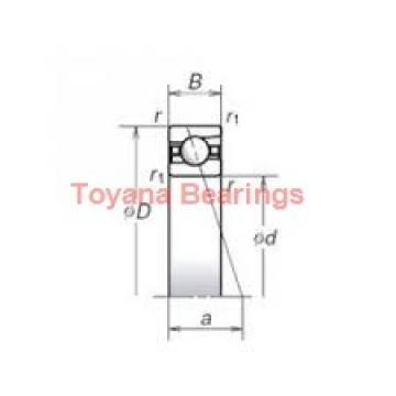 Toyana 71900 C angular contact ball bearings