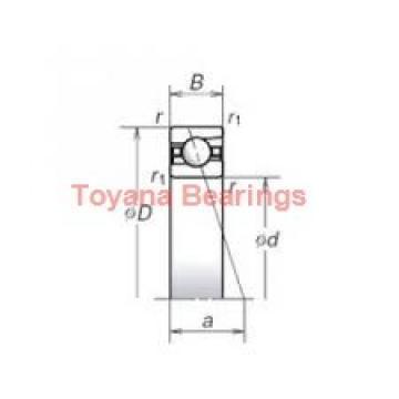 Toyana BK4012 cylindrical roller bearings