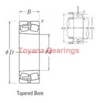 Toyana BK2025 cylindrical roller bearings
