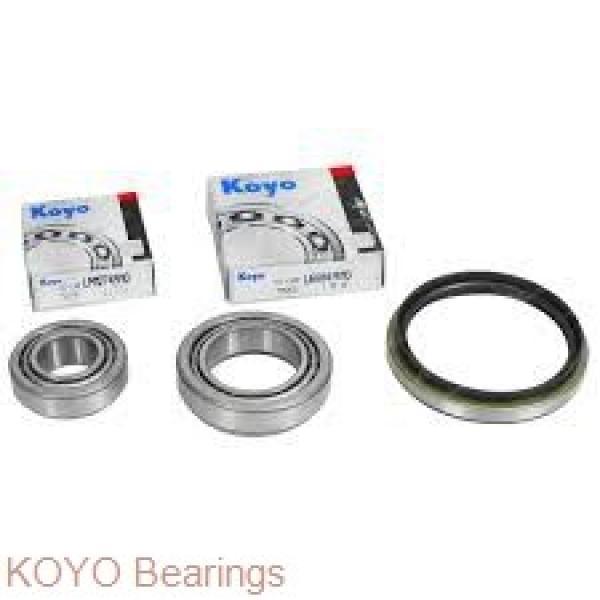 KOYO 3NC6002HT4 GF deep groove ball bearings #1 image