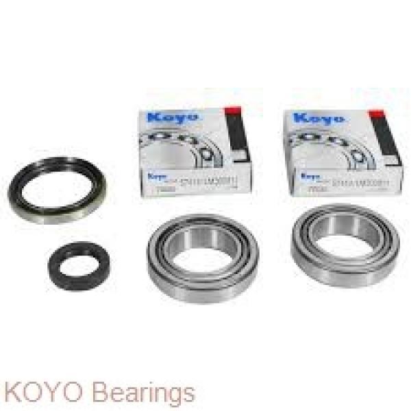 KOYO 6218-2RS deep groove ball bearings #1 image