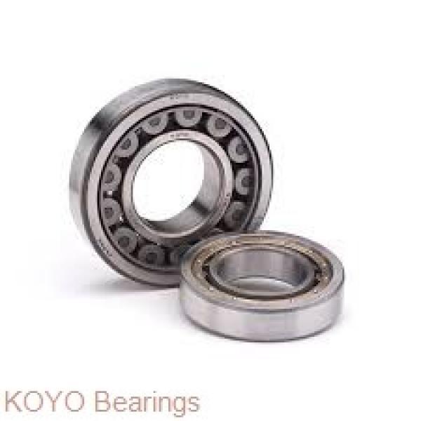 KOYO 6017ZZ deep groove ball bearings #1 image