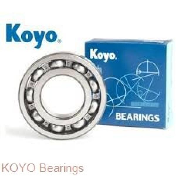KOYO DAC3873WCS53 angular contact ball bearings #1 image